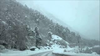 E136: Part 2,  Åndalsnes - Bjorli, 27 february 2016