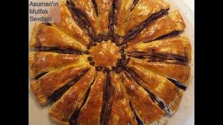 Ay Çöreği Tadında Çokokremli Nefis Çörek Tarifi - Çiçek Şeklinde Ay Çöreği