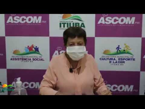 CORONAVIRUS: PREFEITA DE ITIÚBA FALA DA MORTE DE ADOLESCENTE COMSUSPEITA DE COVID-19
