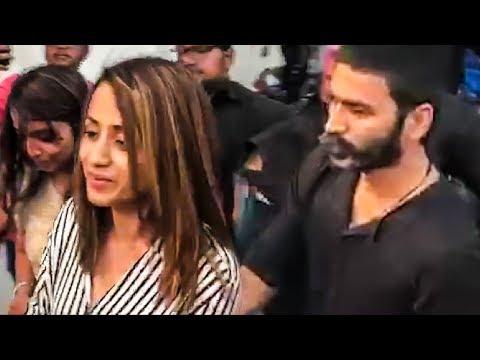 Dhanush, Trisha Spotted at Rohini Theatre! | Rajinikanth | Ajith | Petta FDFS