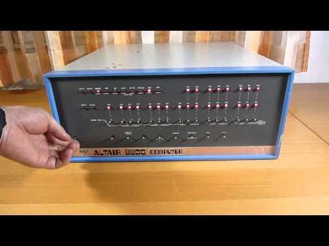 Mits Altair 8800 - world