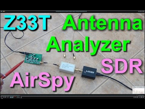 Airspy SDR as a Network Analyzer using for Antenna Characterization