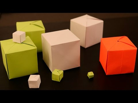 How to Make a Paper Cube