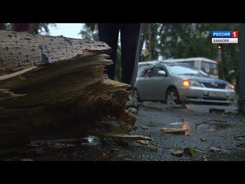 Хакасию накрыл второй за последние 10 дней разрушительный ураган. 21.06.2017