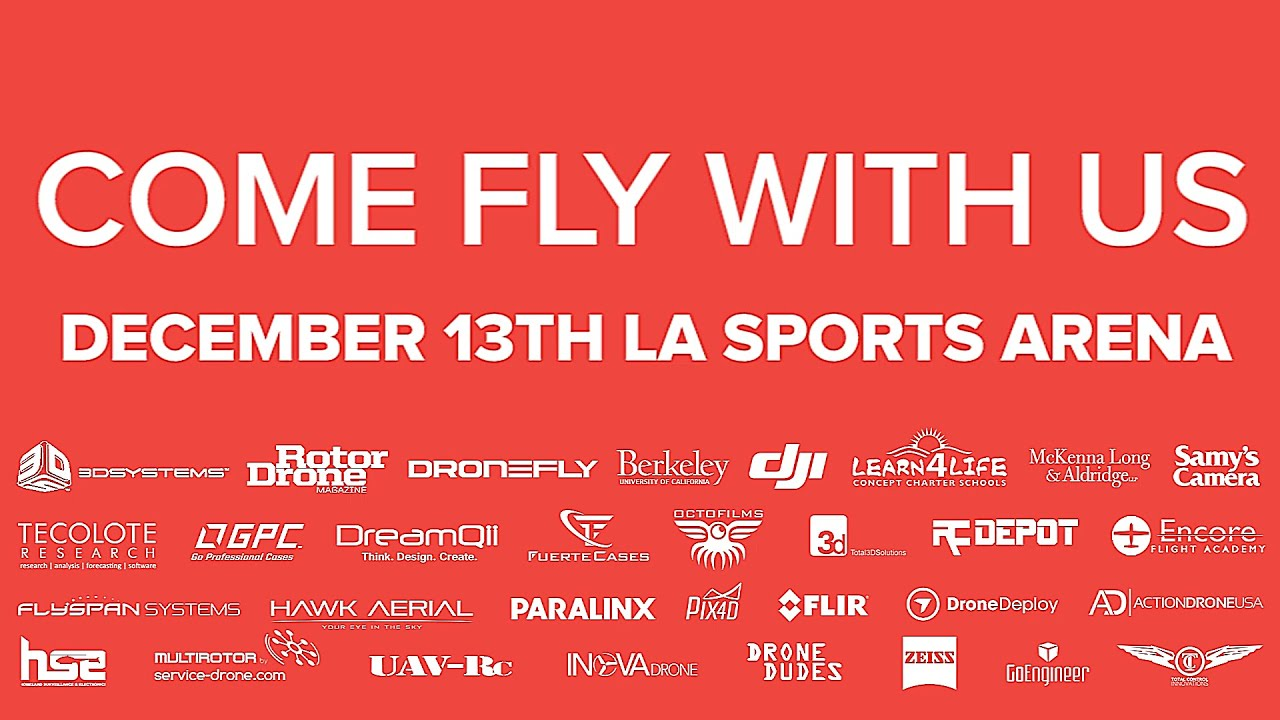 DJI at the Los Angeles Drone Expo