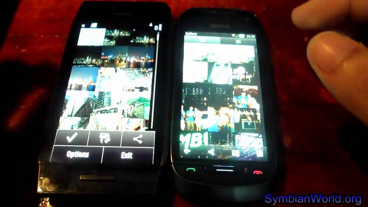You are here home mobiles devices symbian anna update 25 7 - Nokia 701 Symbian Belle Vs Nokia X7 Symbian Anna Media And Messaging Apps Ui Youtube