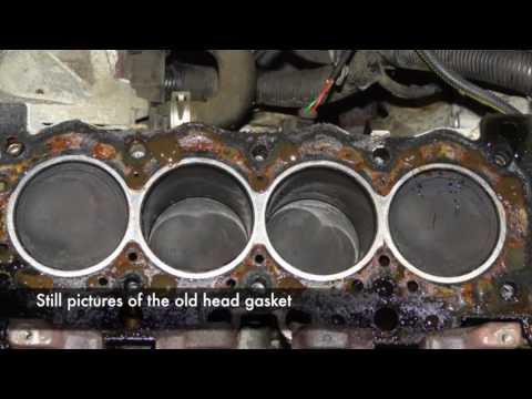 Peugeot/Citroen TU Head Gasket Replacement