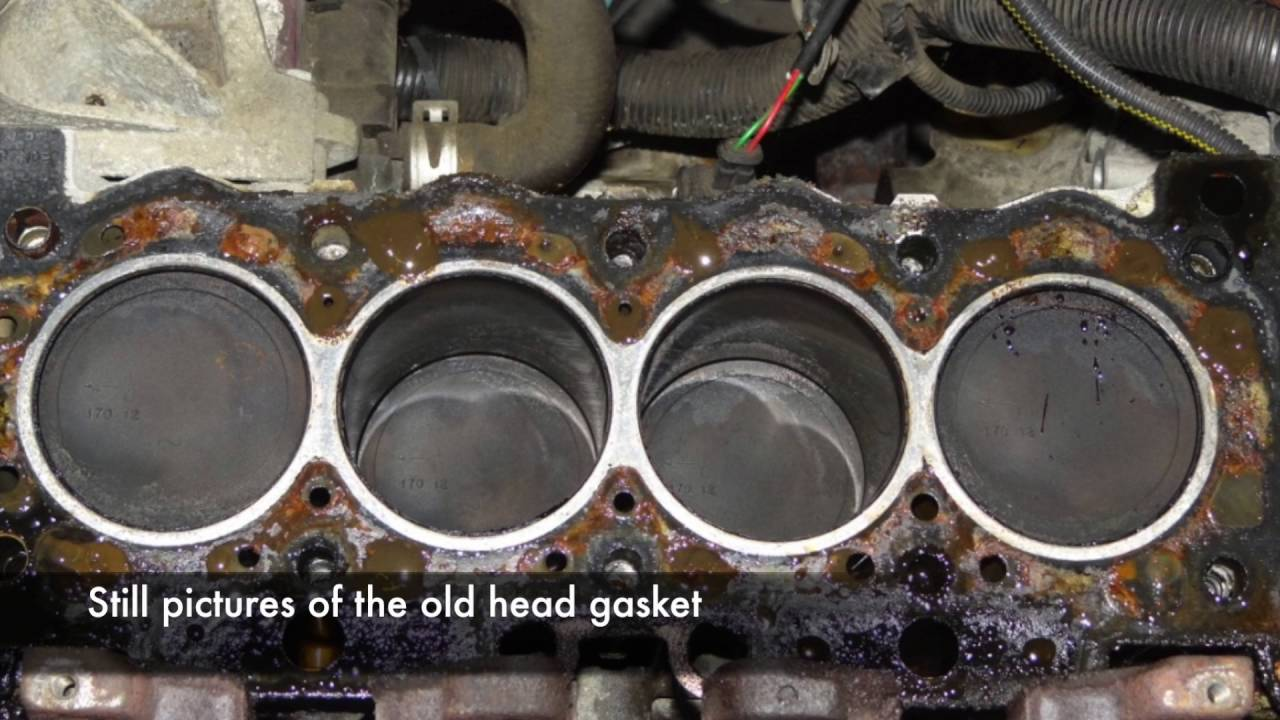 Replacing cylinder head gasket with own hands
