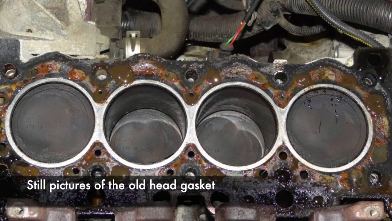 PeugeotCitroen TU Head Gasket Replacement  YouTube