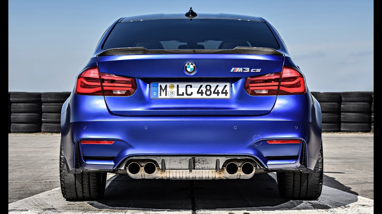 2019 BMW M3 CS 460 hp - ULTIMATE M3 - YouTube