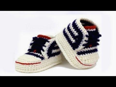 DIY crochet sneakers tutorial  Vasilisa