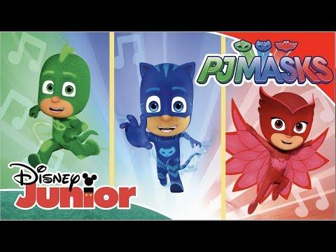 PJ Masks | Music Videos 🎶 | Disney Junior UK