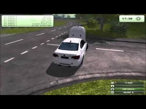 Mod Squad -  Farming Simulator 2013 -  BMW M3, Airplane and World's Douchiest Tractor (Multiplayer) |
