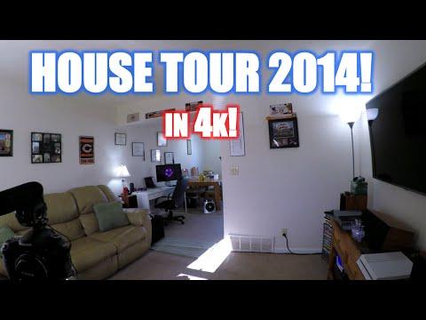 HOUSE TOUR 2014! + Desk Setup & Gaming Setup |4K| (Vlog #108)