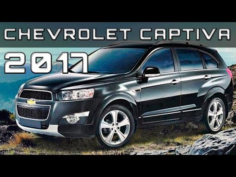2017 Chevrolet Captiva Review Rendered Price Specs Release Date