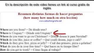Ejemplos de cómo hacer preguntas en ingles
