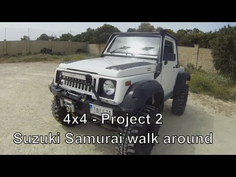 4x4 - Project 2 - Suzuki Samurai walk around