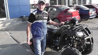 Видео обзор квадроцикла Comman Scorpion 200cc