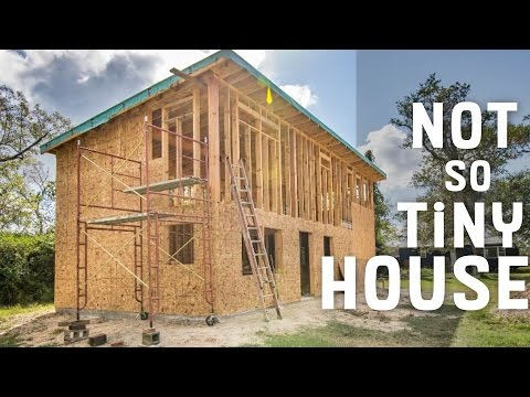 Couple Builds not so tiny House for Under 60k YouTube