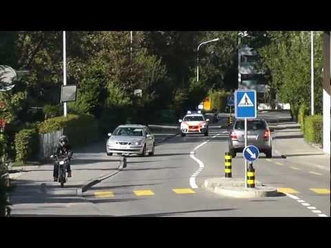 Einsatzfahrt Polizei Zürich Schweiz in HD-Quality - Swiss Police Switzerland