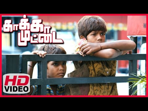 Kaakka Muttai Tamil Movie | Scenes | Vignesh And Ramesh Does Many Job To Make Money To Buy Pizza