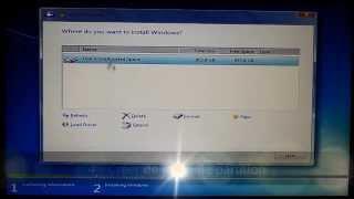 Installer Windows 7 sur portable MSI un disque avec partition en GPT