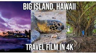 7 Days on the Big Island - Hawaii Travel Vlog in 4K