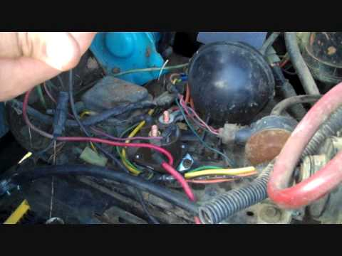 F350 Alternator Wiring Diagram Ford F250 6 9 Diesel Glow Plug Relay And Other Stuff Youtube