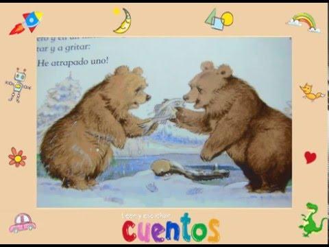 Cuento corto infantil El oso listo y el oso tontorrón