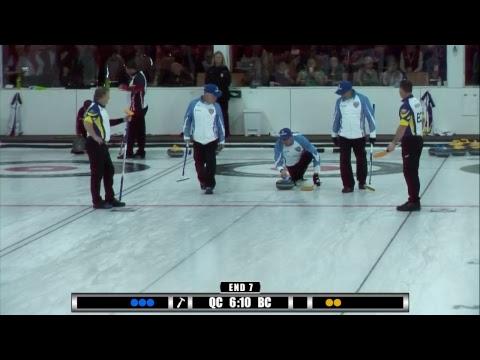 2017 Travelers Curling Club Championship - Draw 13 - NS vs YT Men