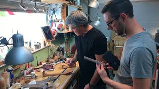 The Luthierist Podcast Shop Tour with Mark Roberts