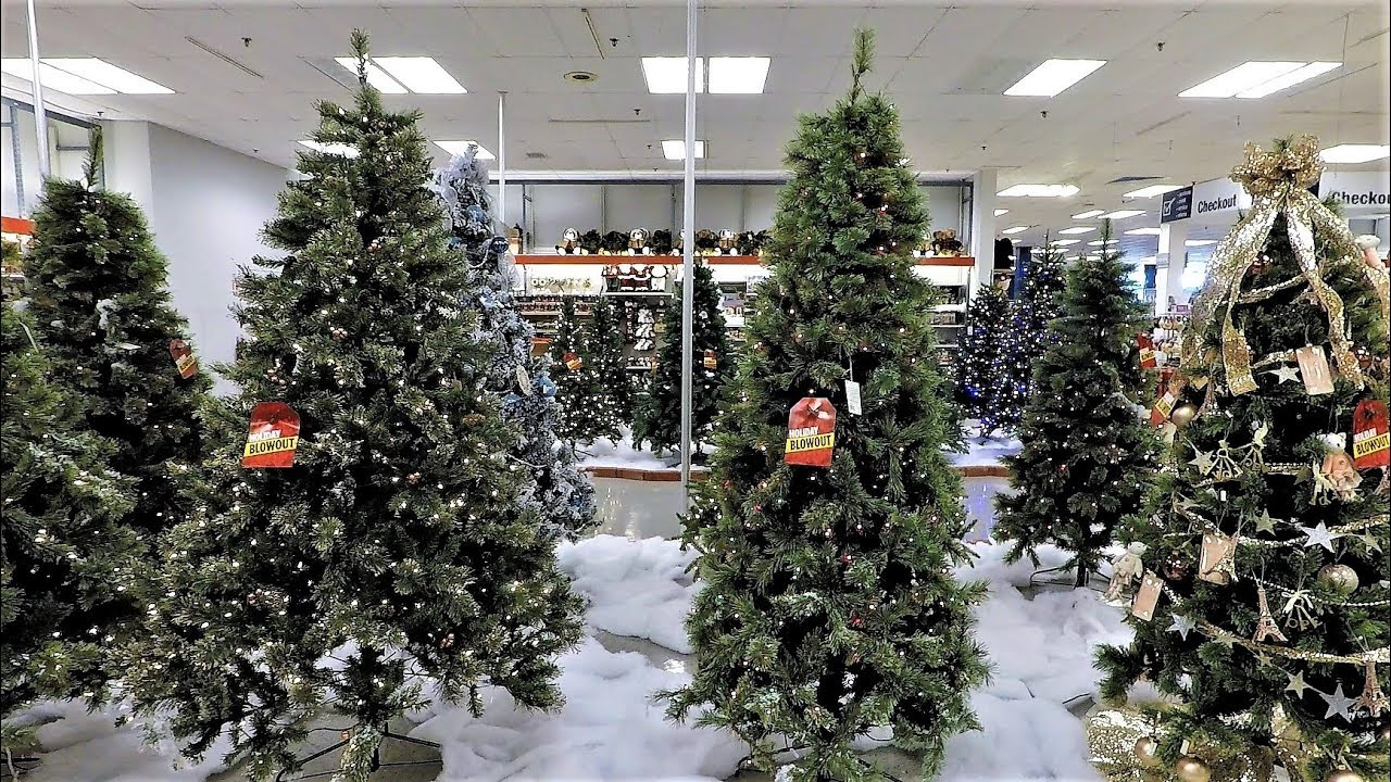 4k christmas section at sears christmas shopping christmas trees decorations ornaments