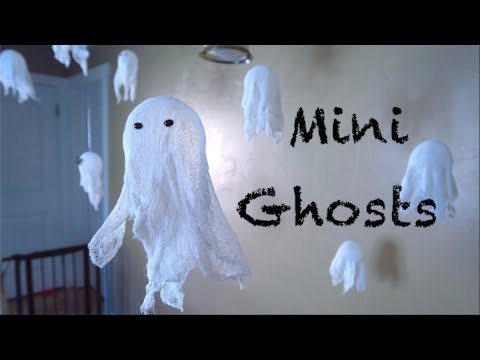 How To Make Floating Ghosts!!!
