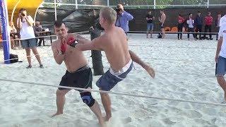 Отличный бой двух резких парней в Ульяновске !!!