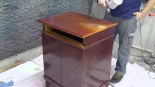 Реставрация мебели материалами Тиккурила(, 2014-05-08T11:12:20.000Z)