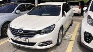 Skoreacar.  Что по чем?  Renault Samsung SM7.  Авто из Кореи