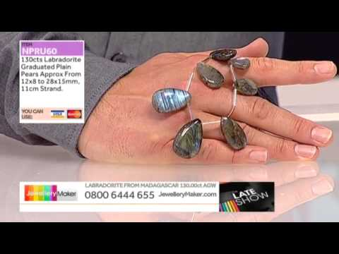 Blue Topaz on The Late Show with Ed McKay (JewelleryMaker) LIVE 20/09/2014