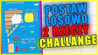 POSTAW LOSOWO DWIE RZECZY CHALLENGE | Ultimate Chicken Horse [#110] | BLADII