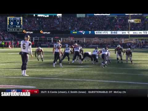 Johnny Hekker vs Patriots (NFL Week 13 - 2016) - 8 Punts, 5 IN20, 52.9 Avg + 76 LNG! | NFL HD