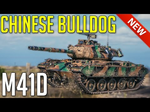 New M41D • Chinese Bulldog is Here ► World of Tanks M41D Gameplay thumbnail