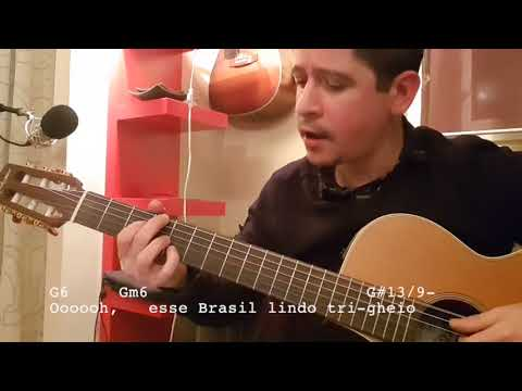 Aquarela Do Brasil With Lyrics Chords And Tabs Youtube