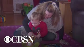 Blind 2-year-old with cerebral palsy gets life-changing gift
