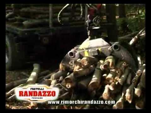 B140 in bosco rimorchio forestale funnydog tv for Bernabei rimorchi agricoli