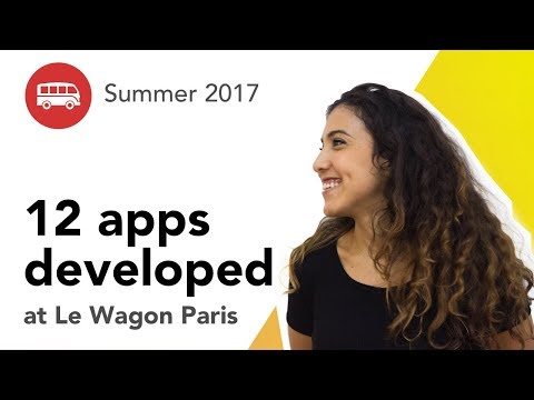 12 apps developed at Le Wagon Paris - Batch #83