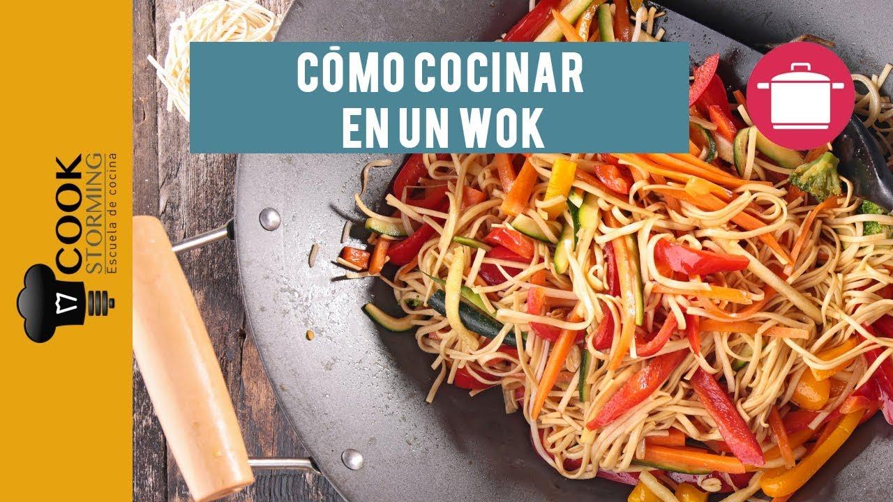 recetas para sarten wok