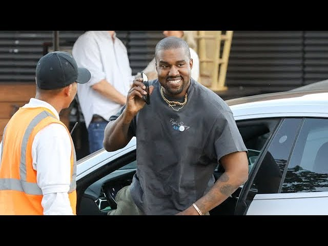 EXCLUSIVE - Kanye West Is Congratulated On His New Album