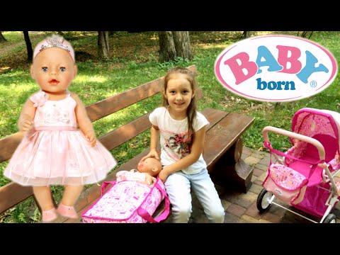 ♥ ︎ Stroller for dolls 3 in 1 Baby Born doll BABY BORN