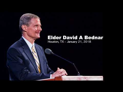 Elder Bednar: January 2018 (Cleaned Audio)