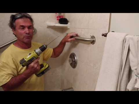 Shower Grab Bars Easy To Install