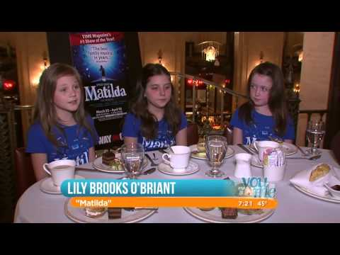Matilda The Musical Interview on You & Me Chicago